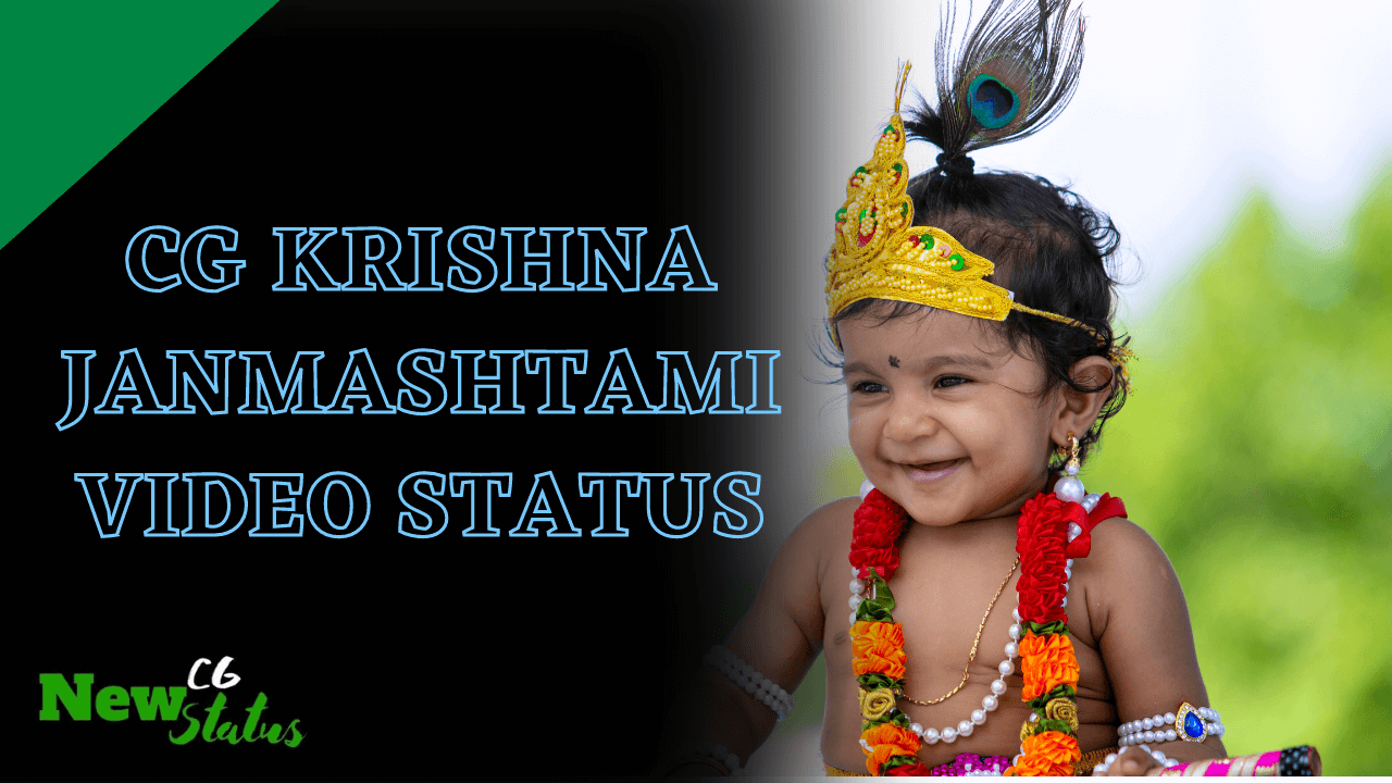 CG Krishna Janmashtami Video Status
